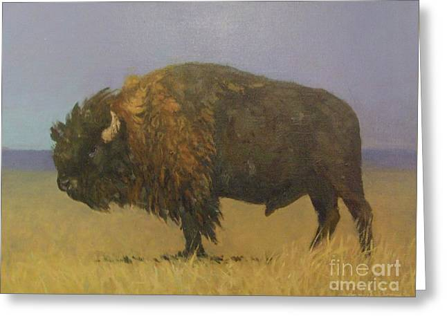 Great American Bison Greeting Card