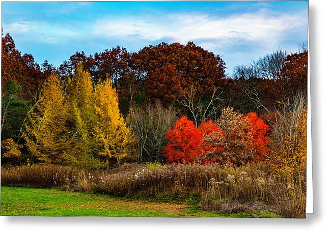Great Brook Farm Autumn Greeting Card