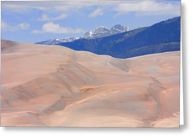 Great Colorado Sand Dunes Greeting Card
