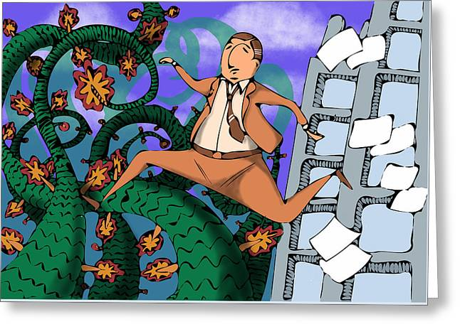 Great Escape  Greeting Card