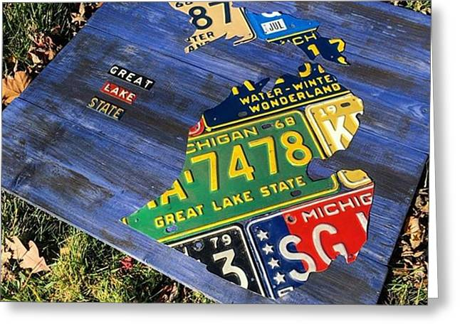 Great #fall Day In The #greatlakesstate Greeting Card