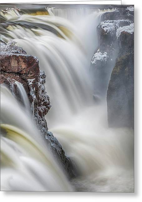 Great Falls Of The Passaic River Greeting Card