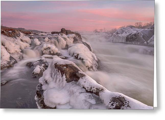 Potomac River Great Falls Virginia Greeting Card