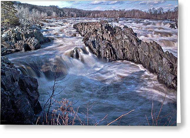 Great Falls Virginia Greeting Card