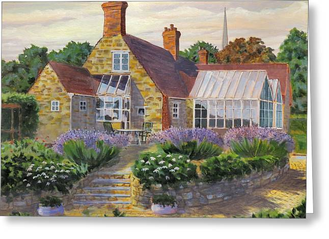 Great Houghton Cottage Greeting Card
