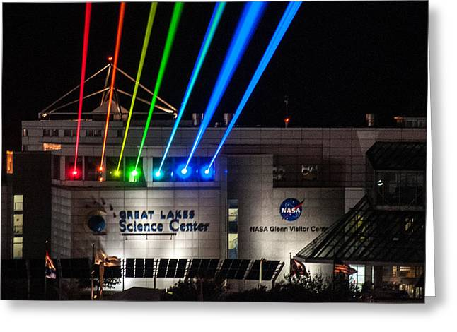 Great Lakes Science Center Greeting Card