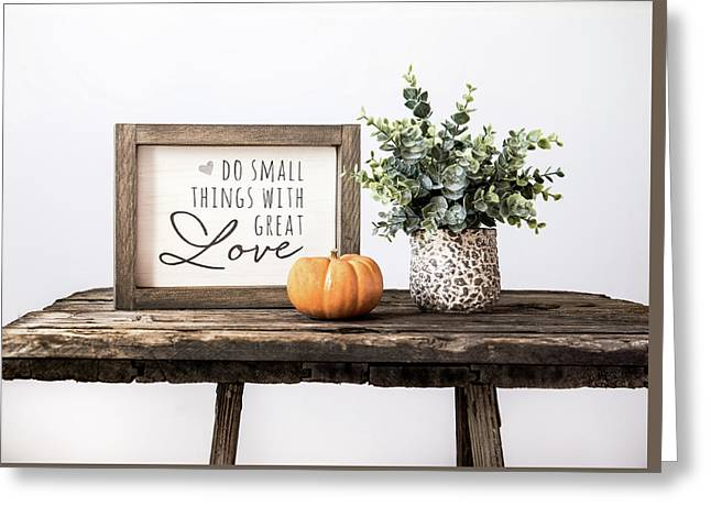 Great Love Greeting Card