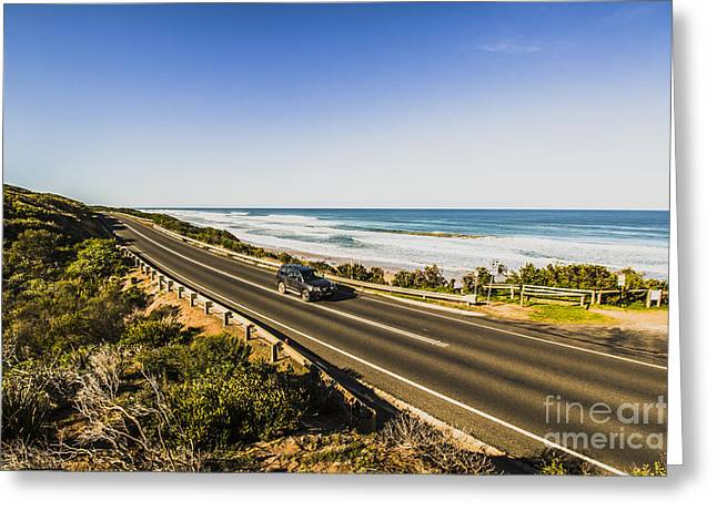 Great Ocean Road Greeting Card by Jorgo Photography - Wall Art Gallery