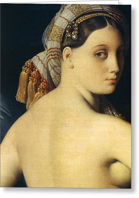 Great Odalisque Greeting Card
