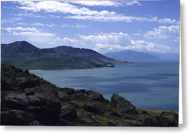 Great Salt Lake Greeting Card
