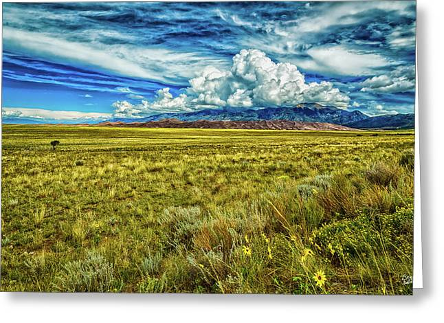 Great Sand Dunes National Park Greeting Card