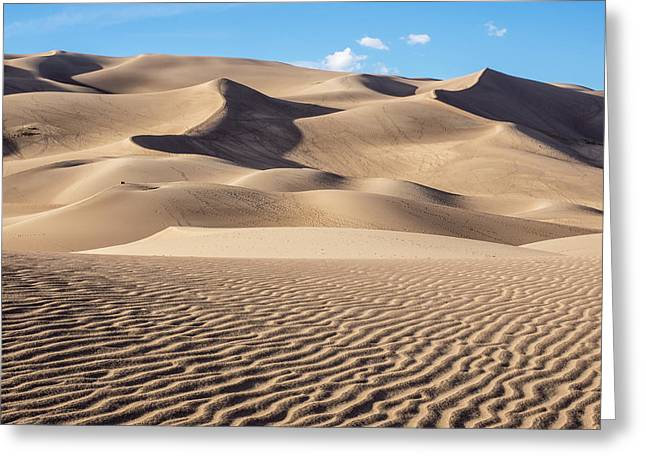 Great Sand Dunes National Park In Colorado Greeting Card