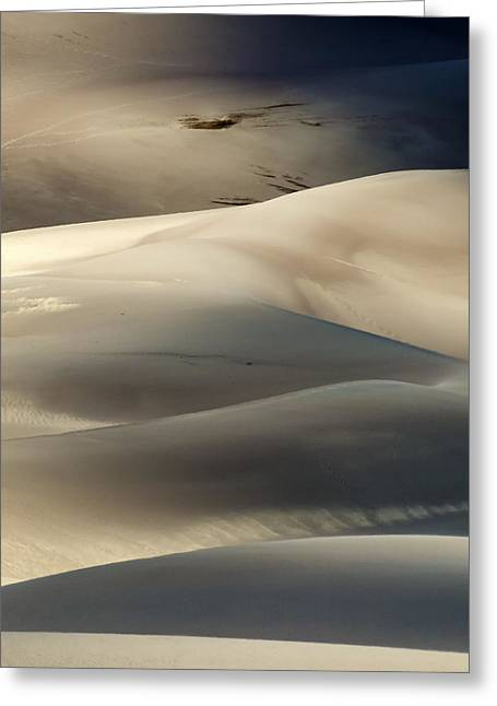 Great Sand Dunes National Park V Greeting Card