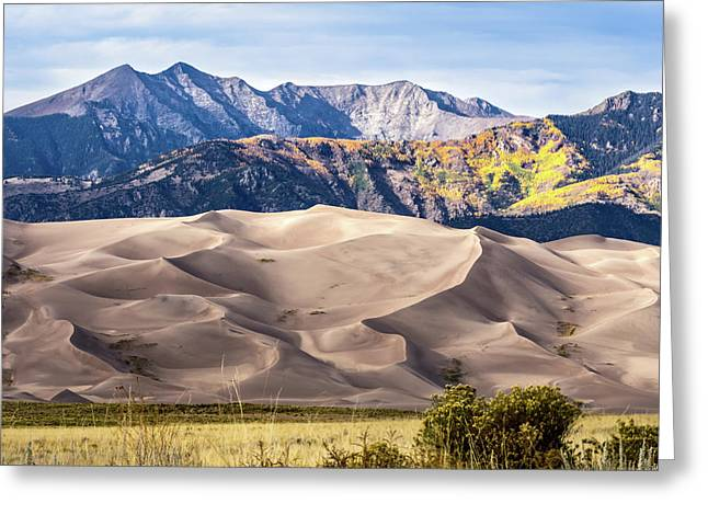 Great Sand Dunes Of Southern Colorado Greeting Card
