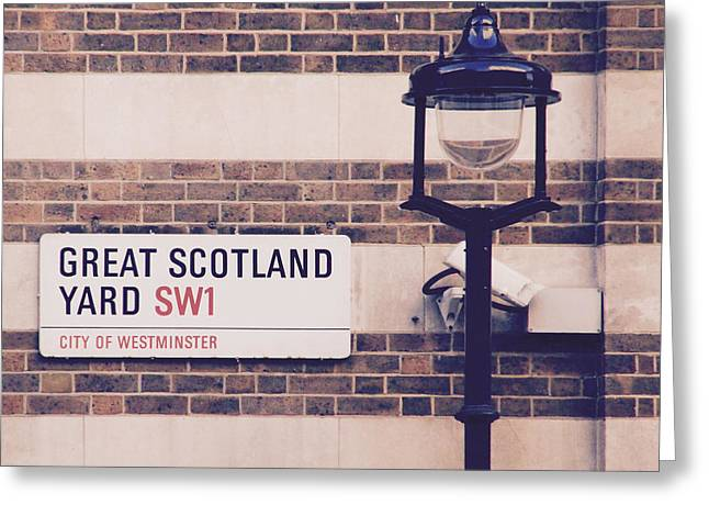 Great Scotland Yard Greeting Card