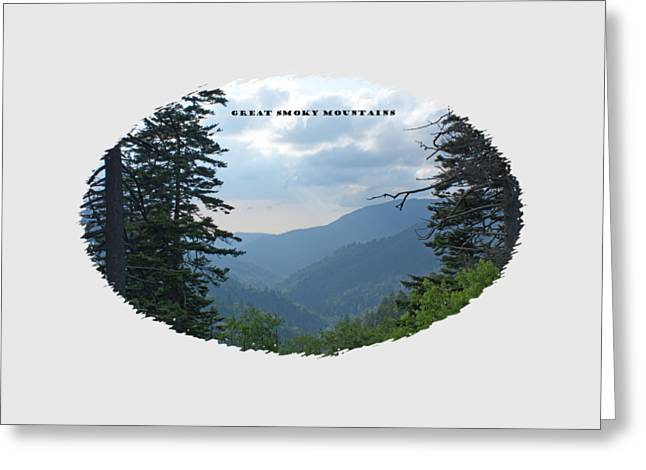 Great Smoky Mountains Image For T Shirts And Gifts Greeting Card