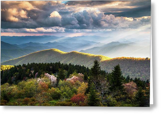 Great Smoky Mountains National Park - The Ridge Greeting Card