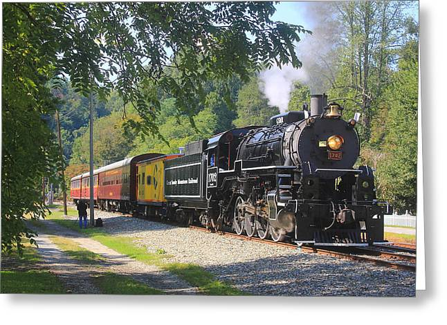 Great Smoky Mountains Railroad 9 9 2017 A Greeting Card