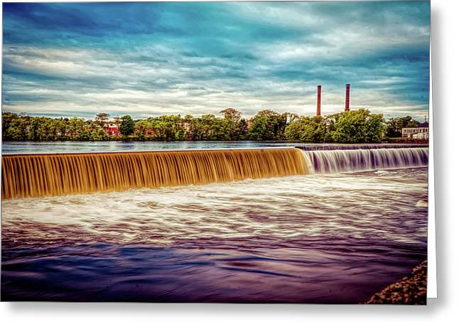 Great Stone Dam Greeting Card