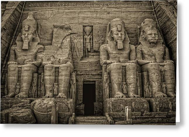 Great Temple Abu Simbel  Greeting Card