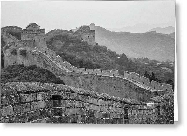 Great Wall 7, Jinshanling, 2016 Greeting Card