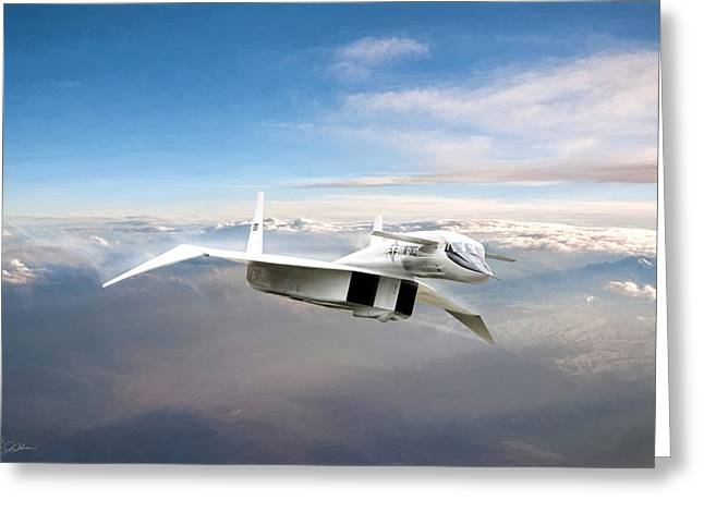 Great White Hope Xb-70 Greeting Card by Peter Chilelli