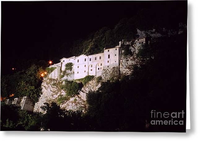 Greccio Monastery I Greeting Card by Fabrizio Ruggeri
