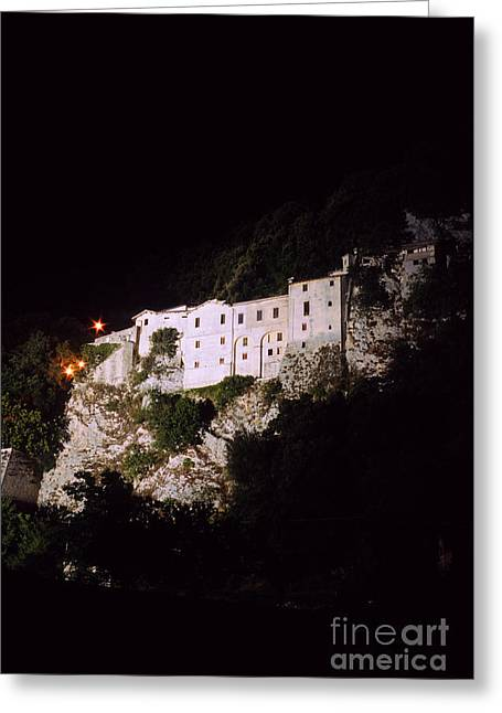 Greccio Monastery II Greeting Card by Fabrizio Ruggeri