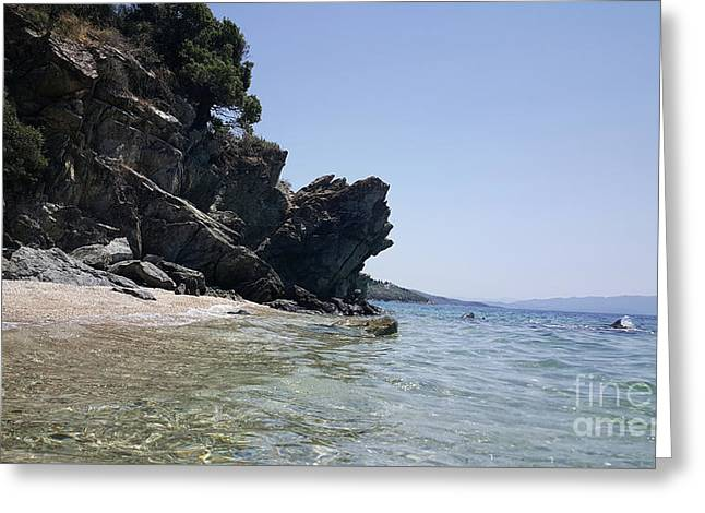 Greece - The Pelion Greeting Card by Adriana Zoon