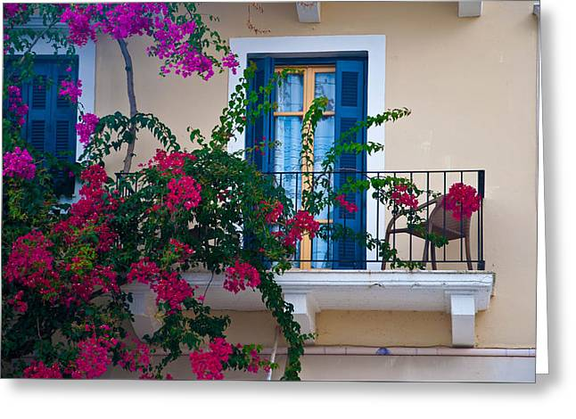 Greek Beauty Greeting Card