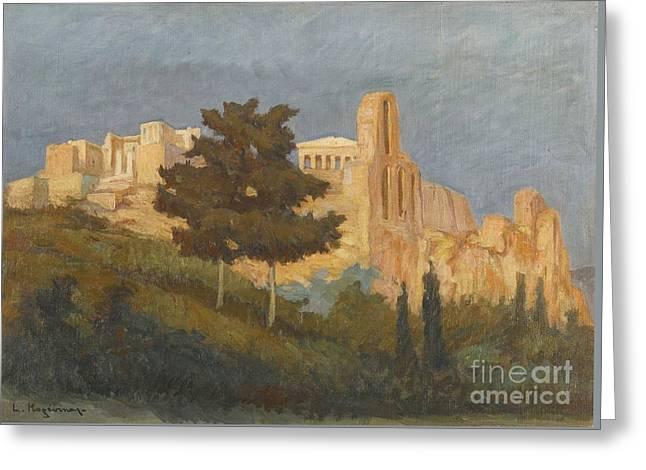 Greek The Acropolis Greeting Card