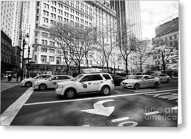 Greeley Square New York City Usa Greeting Card