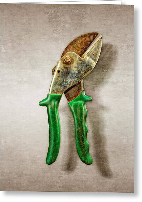 Green Anvil Cutters Greeting Card