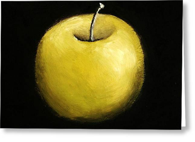 Green Apple Still Life 2.0 Greeting Card