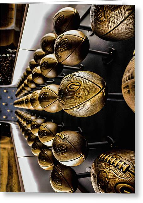 Green Bay Packers Hall Of Fame 2 Greeting Card