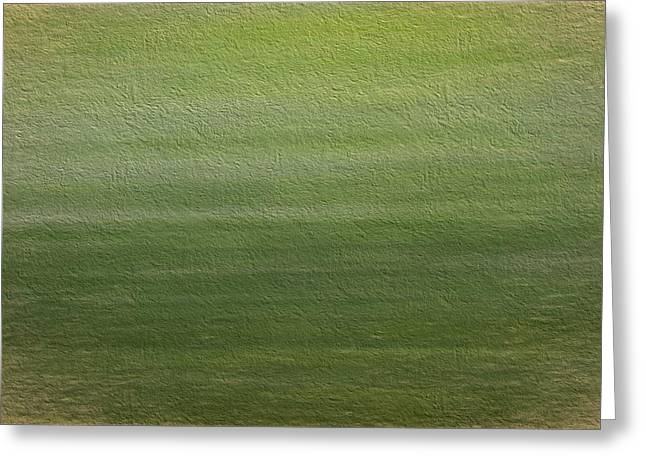 Green Greeting Card by Dan Sproul