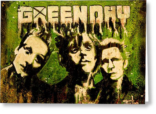 Green Day Greeting Card by Christopher Chouinard