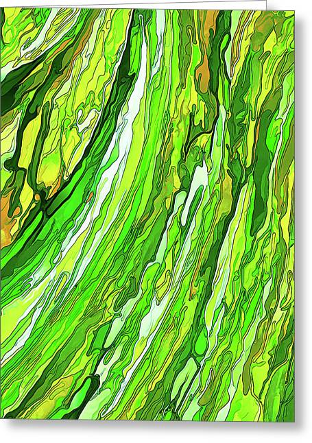 Green Garden Greeting Card by ABeautifulSky Photography