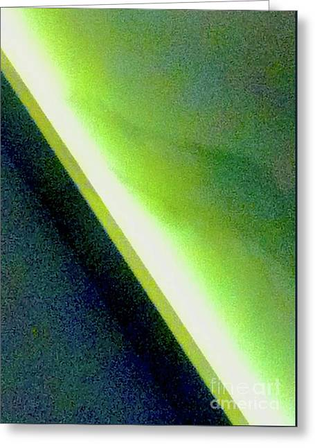 Green Gray And Blue Gray 1a Abstract Greeting Card