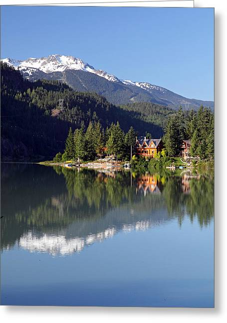 Green Lake Whistler  Greeting Card by Pierre Leclerc Photography