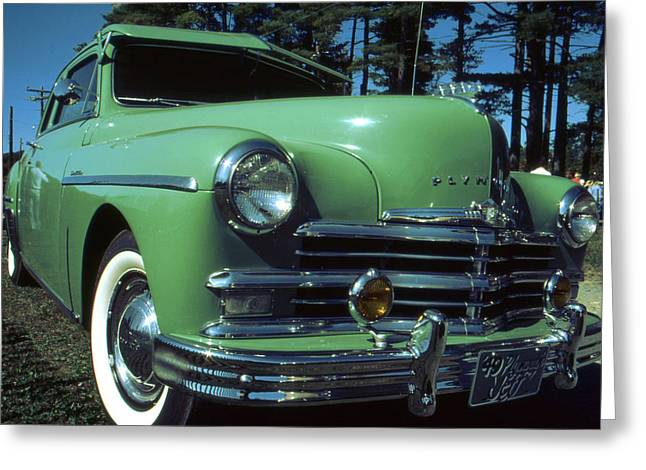American Limousine 1957 Greeting Card