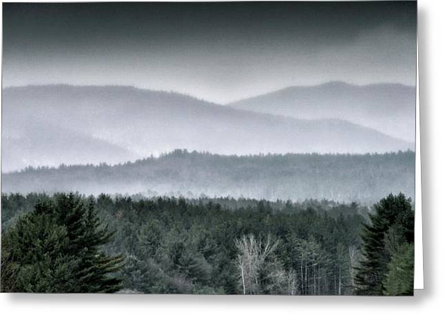 Greeting Card featuring the photograph Green Mountain National Forest - Vermont by Brendan Reals