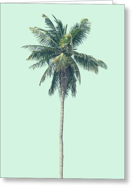 Green Palm Greeting Card