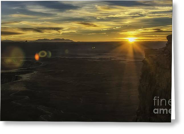 Green River Flair  Greeting Card