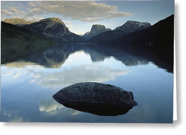 Green River Lake, Bridger-teton Greeting Card by Raymond Gehman