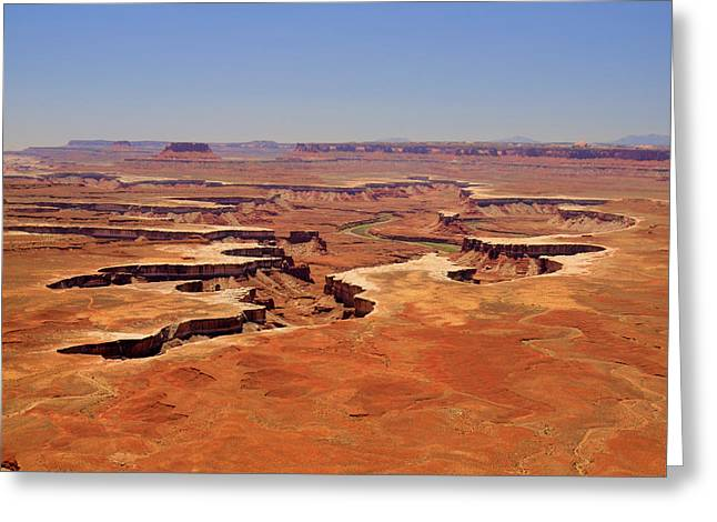 Green River Overlook Greeting Card by Phil Stone