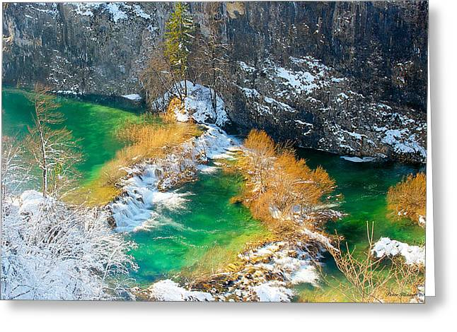 Green River Greeting Card