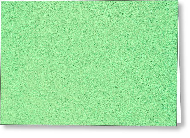 Green Stone Surface Greeting Card