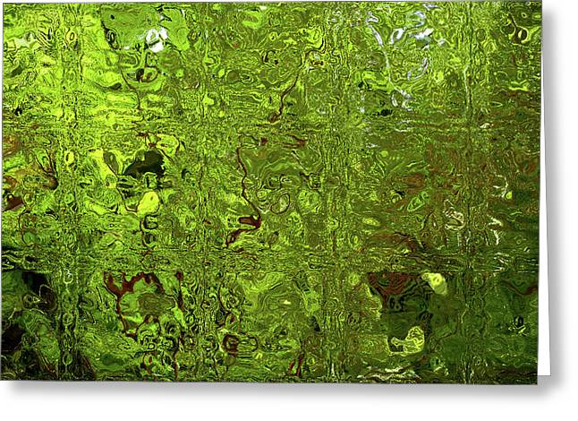 Green With Envy Greeting Card by Shaun Poole