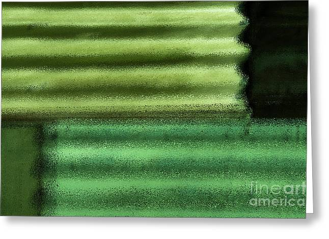 Green With Envy Greeting Card by Wendy Wilton